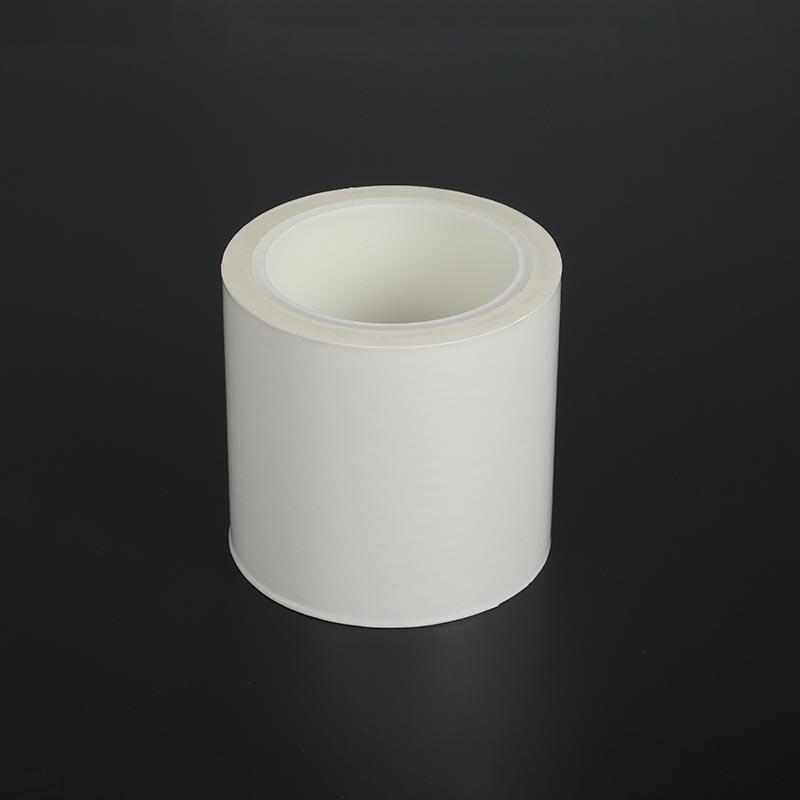 PE橡胶奶白膜单个